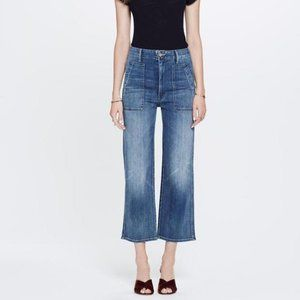 Mother Pocket Greaser High Waist Jeans